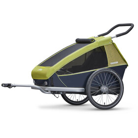 Croozer Kid for 2 Fahrradanhänger lemon green